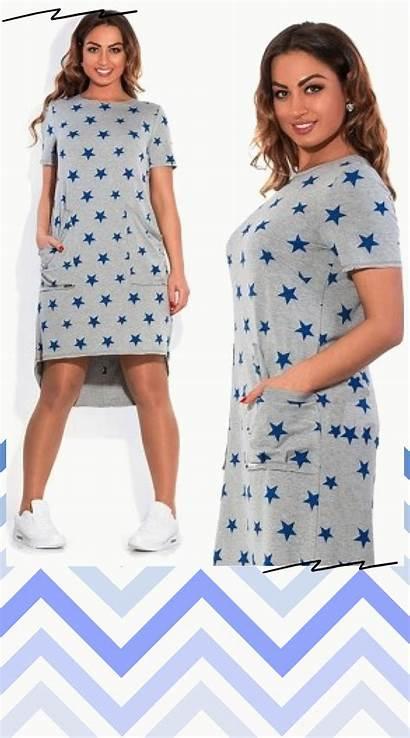 Casual Dresses Irregular 6xl 5xl Five Stars