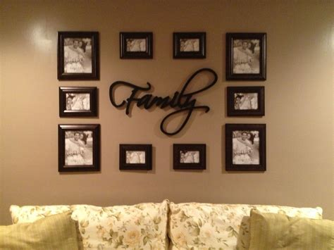 Living Room Wall Arrangements by Photo Arrangement For A Wall For The Home Picture