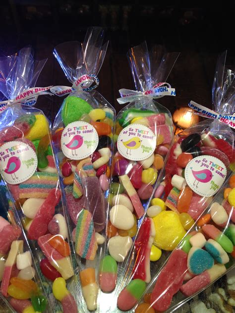 birthday party favours aunty nellies sweet shop