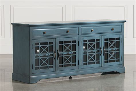 70 inch sofa table annabelle blue 70 inch tv console living spaces