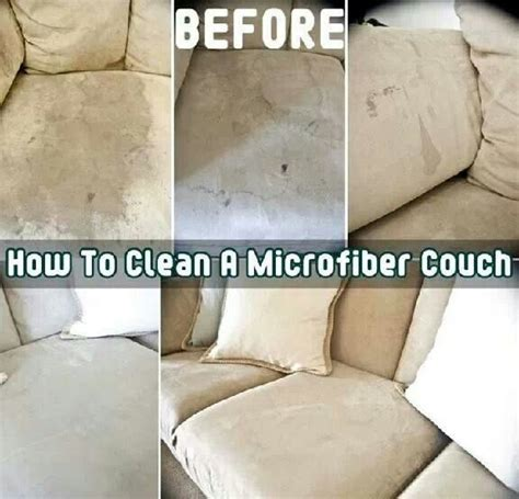 how to clean upholstery sofa how to clean microfiber furniture cleaning tips pinterest