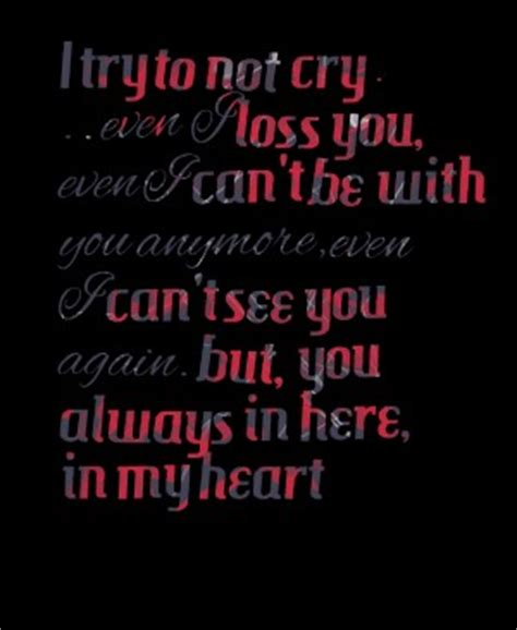 I Cant Cry Anymore Quotes