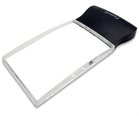 Fancii Kleine Taschenlupe mit LED Licht, 3x 15x Fach, 60
