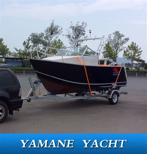 Cuddy Cabin Fishing Boat Manufacturers by High Quality Marine Aluminum Welded Cuddy Cabin Top