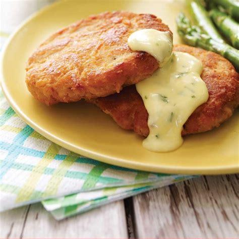 croquettes de saumon et mayonnaise 224 l estragon ricardo