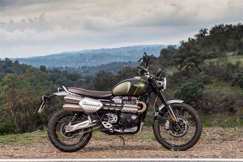 Modification Triumph Scrambler 1200 by Triumph Scrambler 1200 Ride Report The Bike Shed