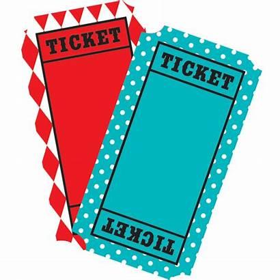 Carnival Tickets Ticket Clipart Mini Accents Clip