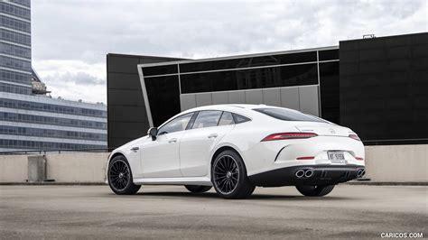 » « » « cars makes types topics guides games. 2019 Mercedes-AMG GT 53 4-Door Coupe (US-Spec) - Rear Three-Quarter | HD Wallpaper #317