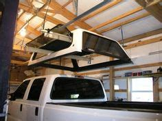 pulley system  quickly raiselower truck canopy diy