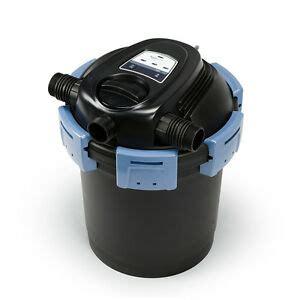aquascape filters aquascape ultraklean 2000 gallon pressure filter w 14