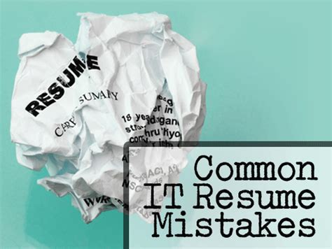 15 common resume mistakes and how to avoid them cio