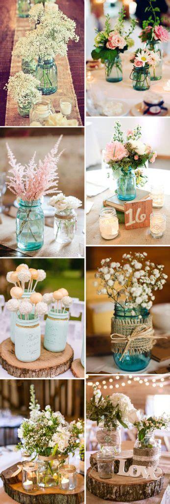 50+ Best Rustic Wedding Ideas with Mason Jars Stylish