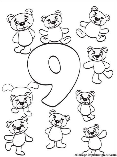coloriage chiffre  nombre   imprimer coloriage  imprimer gratuit