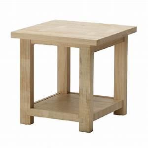 Wooden Side Table Hpd459 - Side Table - Al Habib Panel Doors
