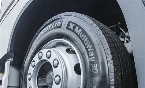 Truck Tyre Size Shift Continues, Reports Michelin