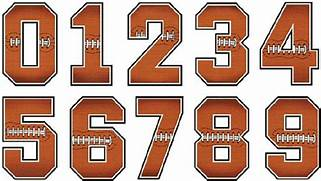 Gallery For Numbers Font Sports Chandeliers Pendant Lights Football Applique Alphabet Embroidery Design Football 13 Jersey Font E Images Jersey Letters Font Jersey