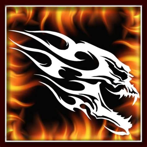 skull  airbrush stencil template motorcycle chopper