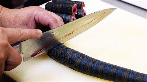 japanese street food venomous sea snake okinawa seafood
