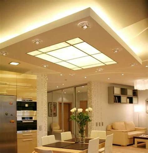 Kitchen Gypsum Ceiling Design And Also Trends Images