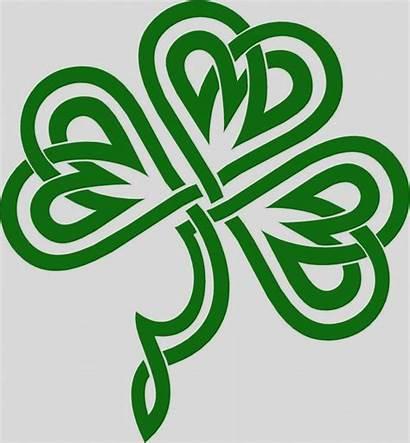 Celtic Clip Knot Clipart Shamrock Irish Knots