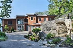 West Coast Contemporary Home - Contemporary - Exterior ...