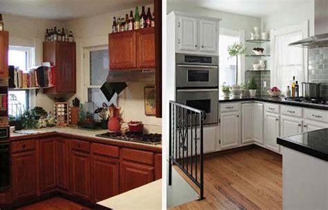 relooking cuisine avant apres 12 exemples avant après pour un relooking maisons