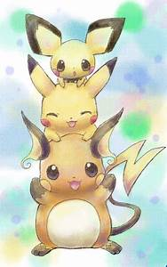 Pokemon Cute Pikachu Family - Hot Girls Wallpaper