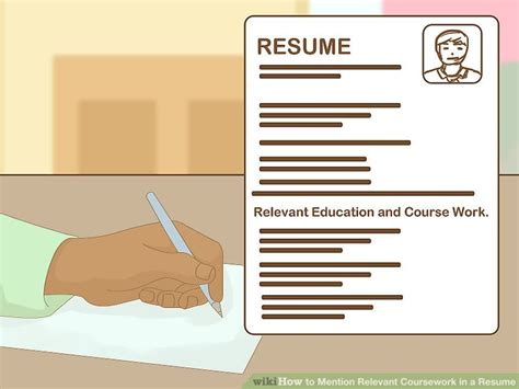 Resume Relevant Coursework by How To Mention Relevant Coursework In A Resume 9 Steps