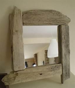 Miroir Bois Flotté : miroir bois flott la belle au bois flotte ~ Teatrodelosmanantiales.com Idées de Décoration
