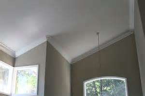 Lighting For Cathedral Ceilings Pictures by Moulding Installation Contemporary Living Room San