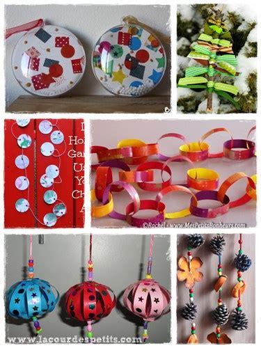 decoration noel pour enfant 40 bricolages de no 235 l pour patienter la cour des petits