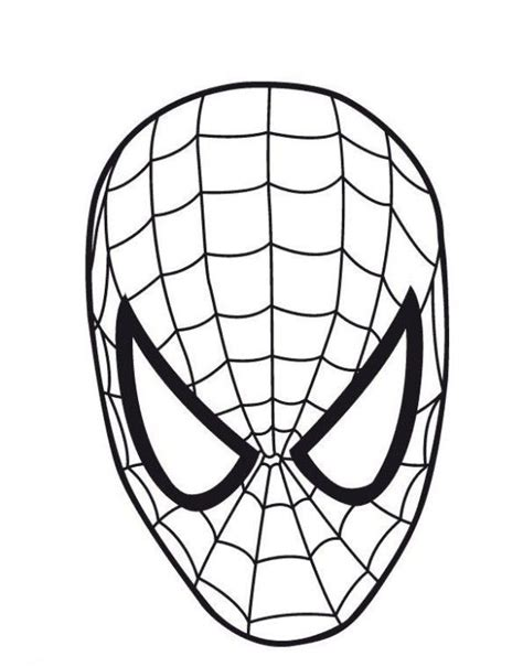 spiderman mask coloring pages spiderman coloring captain america coloring pages spiderman