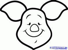 draw piglet easy step  step disney characters