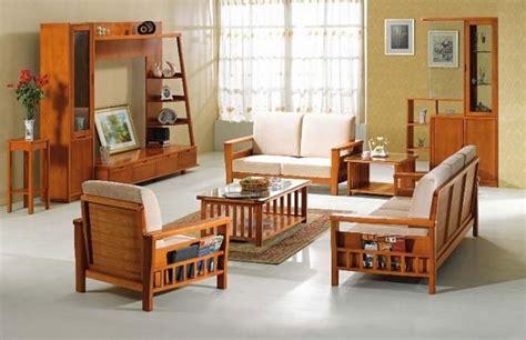 modern wooden sofa furniture sets designs small living