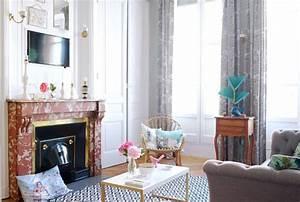 Comment Agencer Son Salon : appartement lyon 3 appart la d co vintage chic c t maison ~ Melissatoandfro.com Idées de Décoration