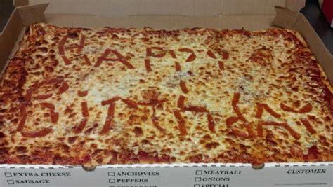 Happy Birthday Pizza