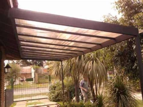 techos en policarbonato hierro  madera consulte