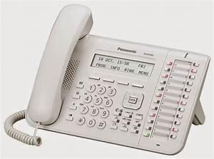 Telepon Panasonic Digital Kx-dt543