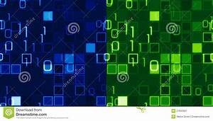 Blue And Green Seamless IT Backgrounds Royalty Free Stock ...