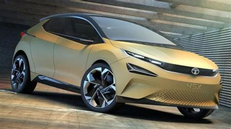 Auto Expo 2018 Tata's 45x Hatchback Sets For A Later 2019