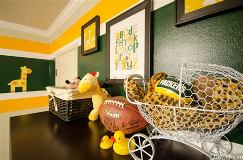 jacobs green bay packers nursery project nursery