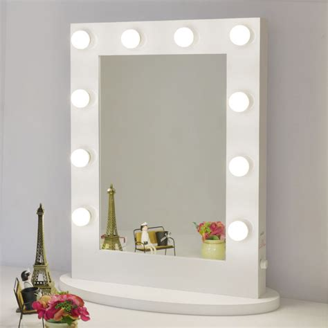 Vanity Mirror With Bulbs - makeup mirror with lights aluminum vanity