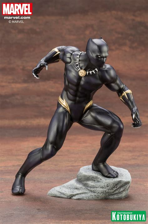 Kotobukiya Marvel Comics Black Panther Statue The Toyark