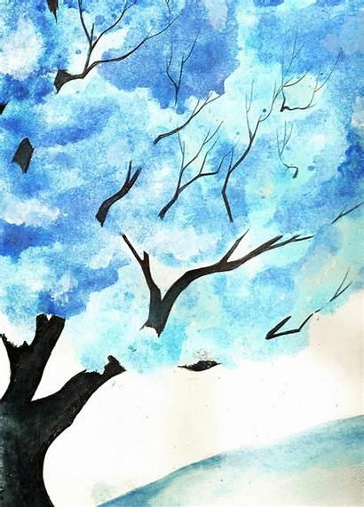 Watercolor Tree Deviantart Stats
