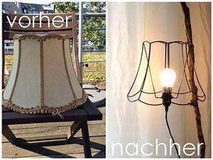 Lampenschirm Für Alte Stehlampe : alter lampenschirm wird neue stehlampe upcycling diy lampenschirm stehlampe stehlampe und ~ A.2002-acura-tl-radio.info Haus und Dekorationen