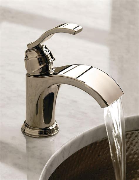 watersense certified waterfall faucet  danze