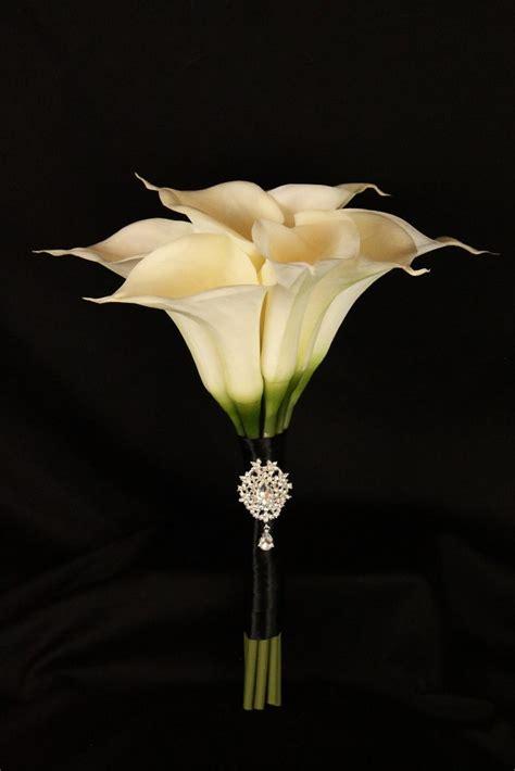 large calla lily wedding bouquet detail wedding design