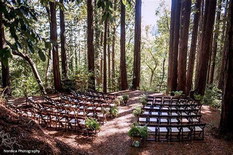 woodsy wedding venues  northern california