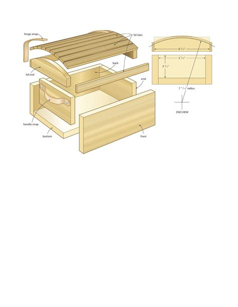 wooden pirates chest plans diy blueprints pirates chest