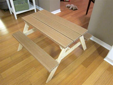 plastic composite picnic tables ana white composite plastic wood preschool picnic table